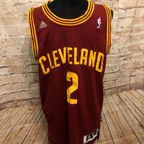 finest selection ffae3 c813a Kyrie Irving Cavs Jersey Small Adidas Sewn